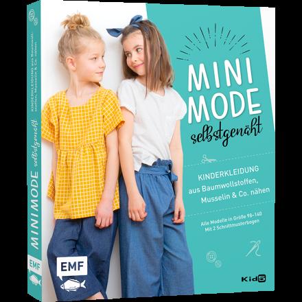 Minimode selbstgenäht – Kinderkleidung aus Baumwollstoffen, Musselin und Co. nähen