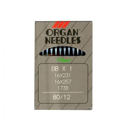 Organ 1738 , 10x 80er Industrienähmaschinennadeln