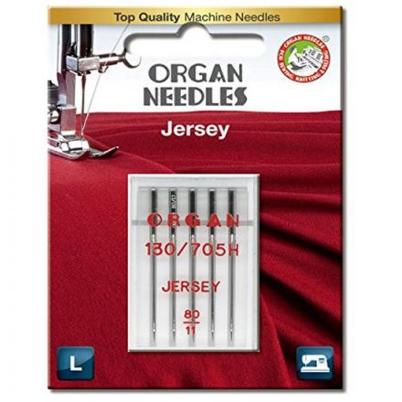 Organ 130/705 H Jersey 5x 080 Nähmaschinennadel