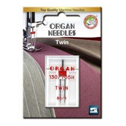 Organ 130-705 H Twin 080- 4.0 Nähmaschinennadel Zwillingsnadel