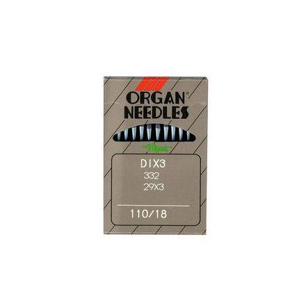 Organ 332, 29x3, DIx3 110er Nähmaschinennadeln