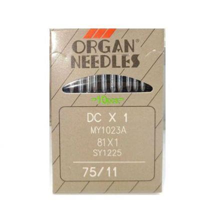 Organ DCx1, 75er Overlock-Nähmaschinennadeln