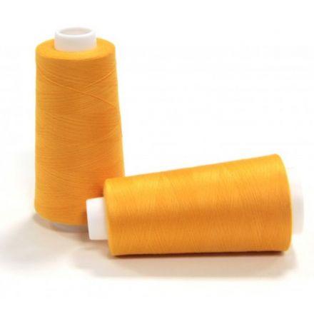 Overlockfaden/kone gelb