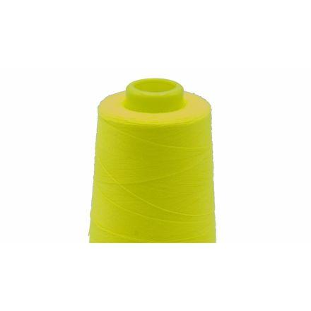 Overlockfaden/kone neon gelb