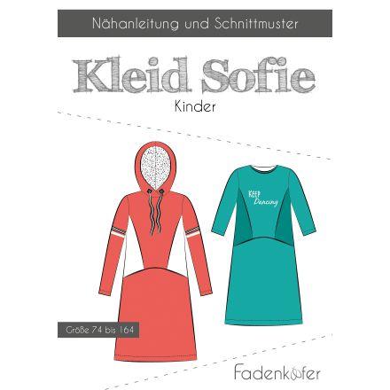 Papierschnittmuster Kleid Sofie Kinder von Fadenkäfer