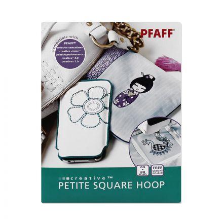 Pfaff creative Petite Square Hoop (80 mm x 80 mm)