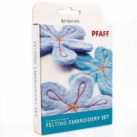 Pfaff creative™ Stickset für Filzeffekte