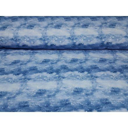 Polar Snow blau/weiss