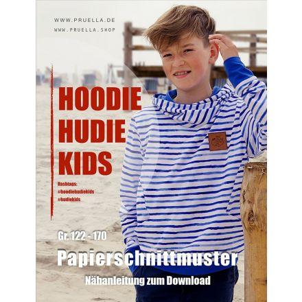 Hoodie Hudie Kids, Prülla Papierschnittmuster