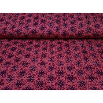 Puristic Flowers pink/violett