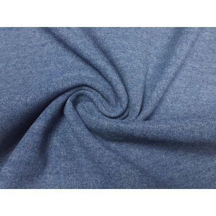 Recycling-Bündchen jeansblau melange