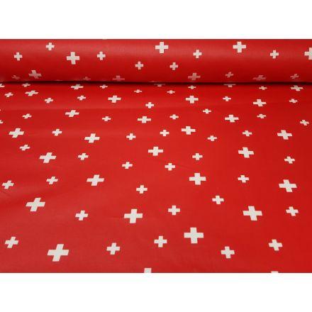 Schweizerkreuz rot/weiss