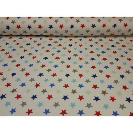 Stars offwhite/rot/blau/beige