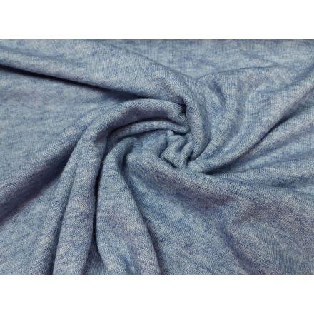 Strick hellblau/melange