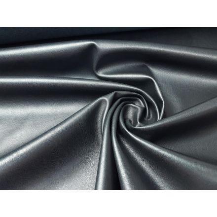 Udako, elastisches Kunstleder mit feiner Struktur schwarz