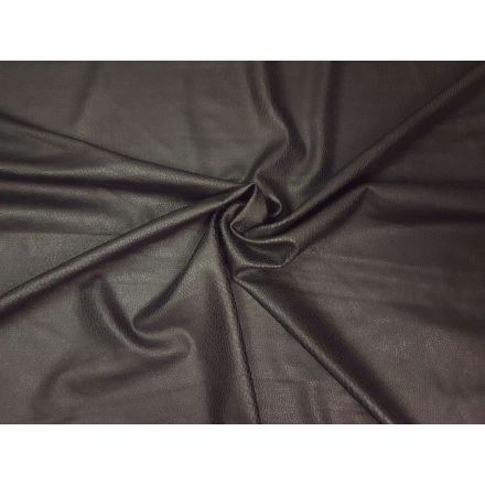 Veurne elastisches Kunstleder schwarz