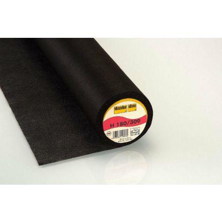 Vlieseline Bügeleinlage H180 schwarz
