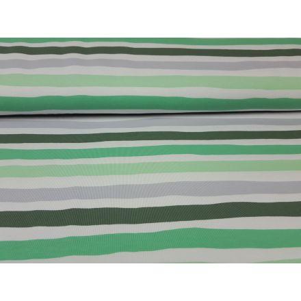 Watercolorstripes olive /grün/grau/weiss