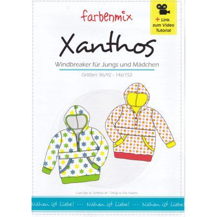 Windbreaker Xanthos, Papierschnittmuster