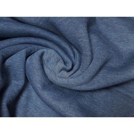 Wintersweat dunkles jeansblau meliert