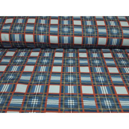 Wood Scottish rost/eisblau/stahlblau