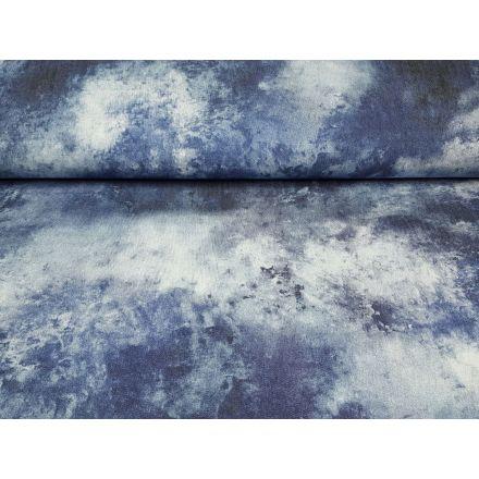 Zeo jeansblau/weiss