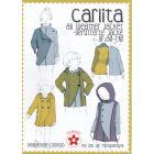 Carlita Jacke Papierschnittmuster