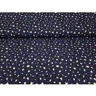 Leopard dunkelblau/schwarz/weiss