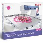 Pfaff Creative Grand Dream Hoop (360 mm x 350 mm) für die Verwendung mit dem XL-Stickmodul)  Pfaff Nr.: 820888096