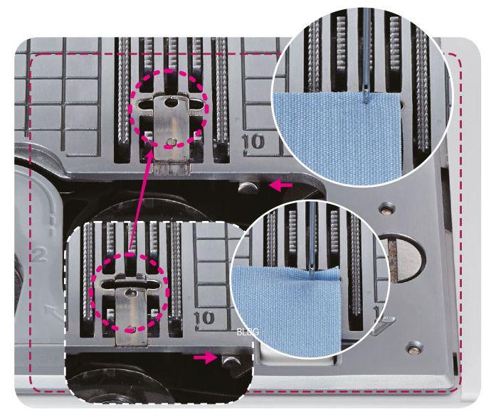 Multifunktionale Stichplatte