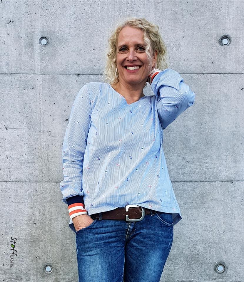 Bluse Elena von Silvia Lottenbach