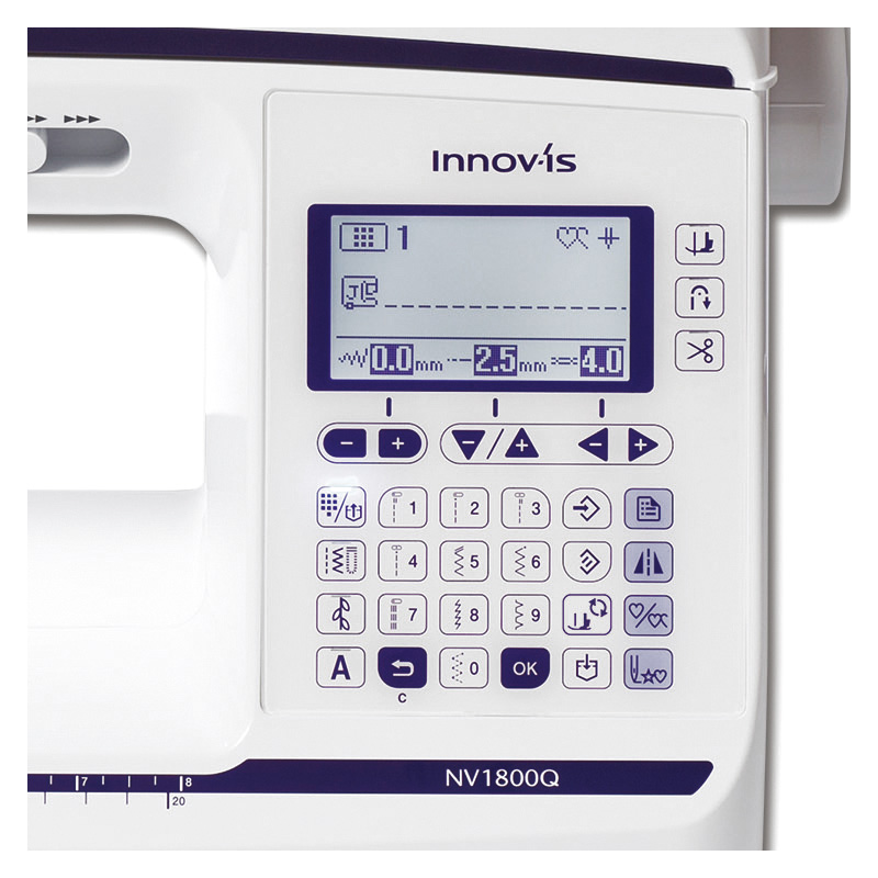 Brother Innov-Is NV1800Q Display