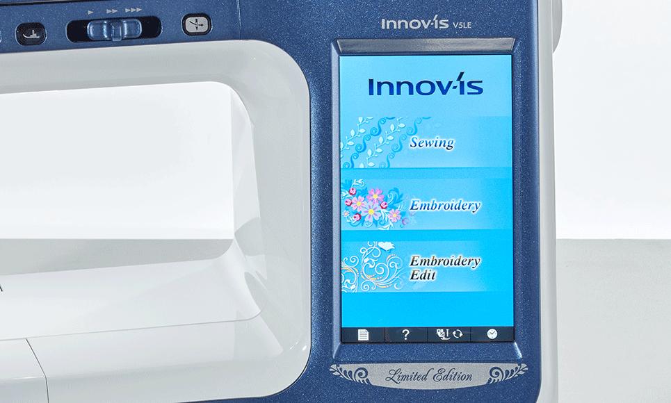 Brother Innovis V5 Limited Edition Grosses Display