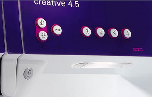 Pfaff creative 4.5 Zentrale Funktionstasten