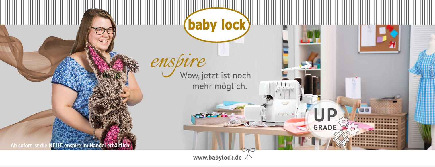 Baby Lock Enspire Upgrade