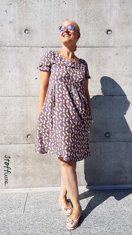 Gardenia Dress by Silvia Lottenbach von Stofflastig.ch