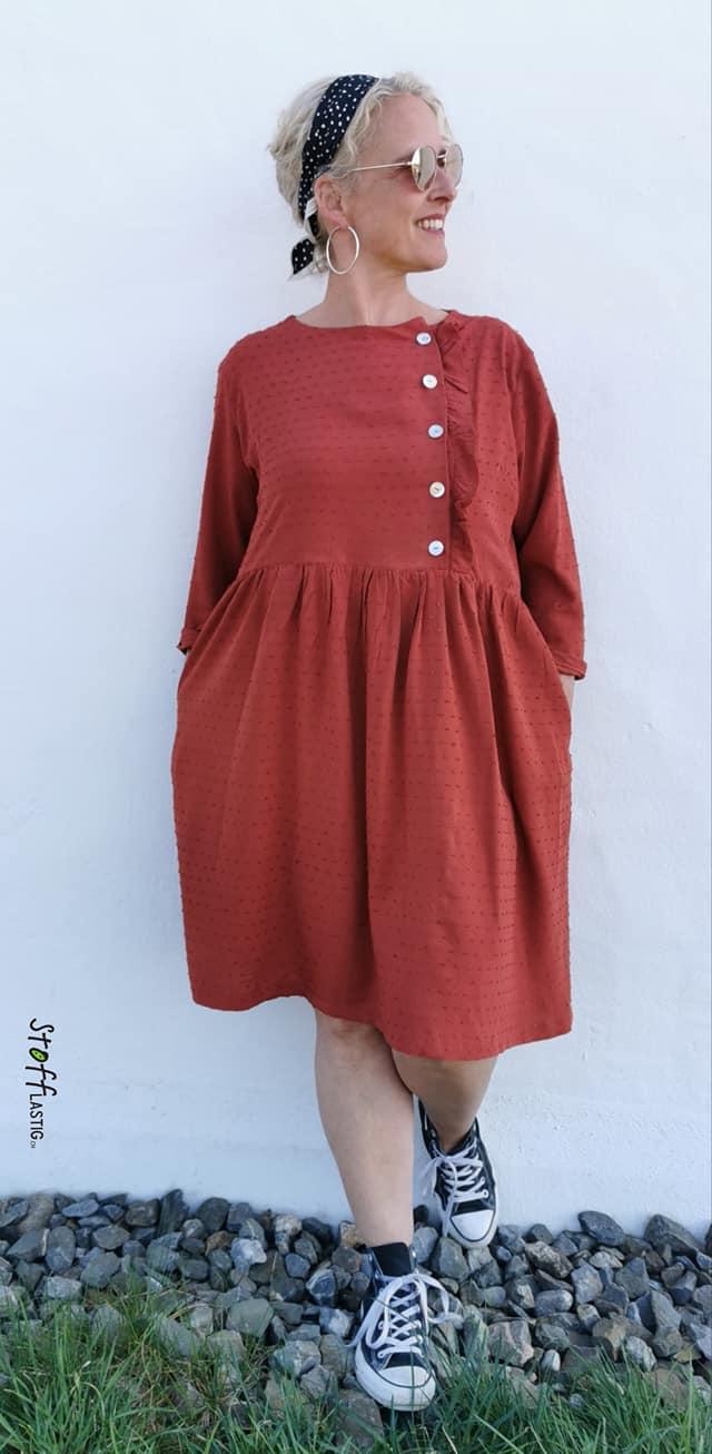 Kleid Elona von Ikatee by Silvia Lottenbach, Stofflastig.ch