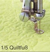 1/4 Quiltfuss und 1/5 Quiltfuss!
