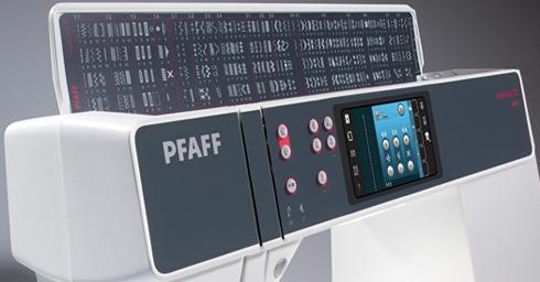 PFAFF creative 3.0 Stichübersicht